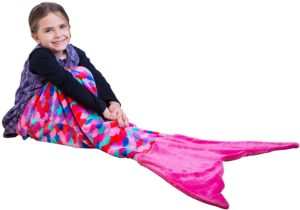 new toys for girls - PixieCrush Mermaid Tail Blanket For Teenagers-Adults & Kids Thick, Plush Super Comfy Fleece Snuggle Blanket With Double S