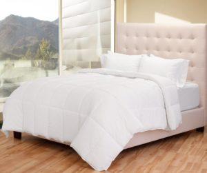 Premium Box Stitched All Season Down Alternative Twin - Twin Extra Long Comforter Duvet Insert - (Twin - Twin XL, White)
