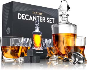 Decanter Set one of the Best Gift Ideas for Men