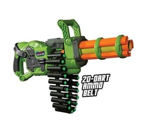 Prime Time Toys Dart Zone Scorpion Motorized Automatic Gatling Blaster