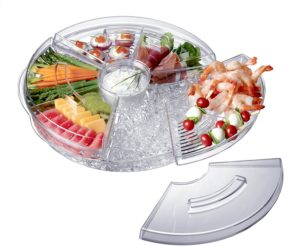 Christmas Gift Ideas for Mom - Prodyne AB-5-L Appetizers-On-Ice with Lids