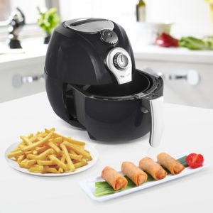 Cooking with an Air Fryer - Simple Chef Air Fryer - Air Fryer For Healthy Oil Free Cooking - 3.5 Liter Capacity with Dishwasher Safe Parts