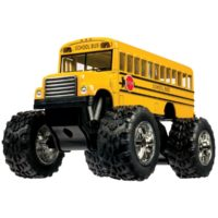 Toysmith 5020 Monster Bus, 5-Inch - Christmas Gift Ideas for Boys