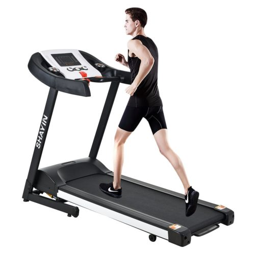 Best Home Gym Equipment - Treadmill Home Fitness Training Equipment Electric Running Jogging Machine Folding Treadmill(US Stock)