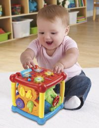 VTech Busy Learners Activity Cube for toy 3 year old