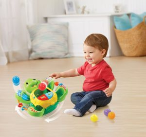 VTech Pop-a-Balls Twirl & Pop Turtle - Great Toys for Kids