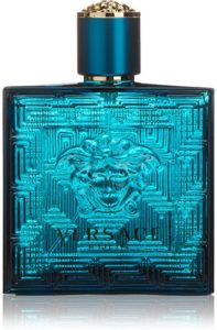 Versace Eros Eau de Toilette Spray for Men, 3.4 Fluid Ounce