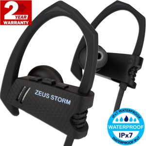 Wireless Headphones in Ear ZEUS STORM Best HD Waterproof Wireless Earbuds with Microphone Bluetooth Headphones Workout