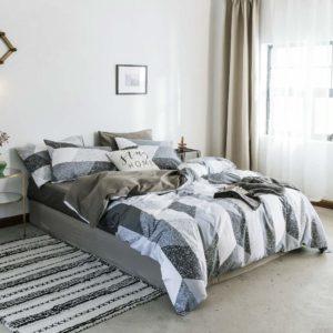 otob 3 pieces bedding duvet cover set